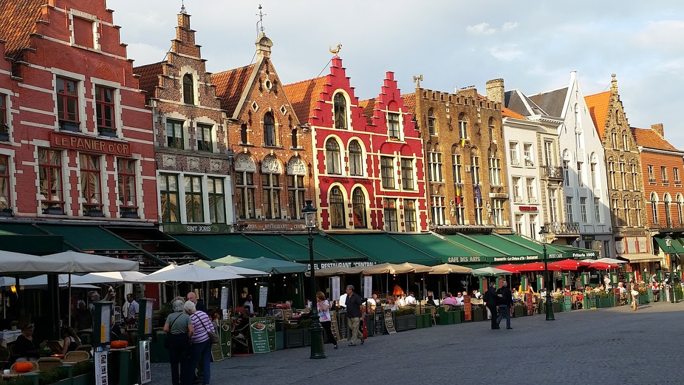 "The Markt (""Market Square"") of Bruges - Photo by MC Krispy E"