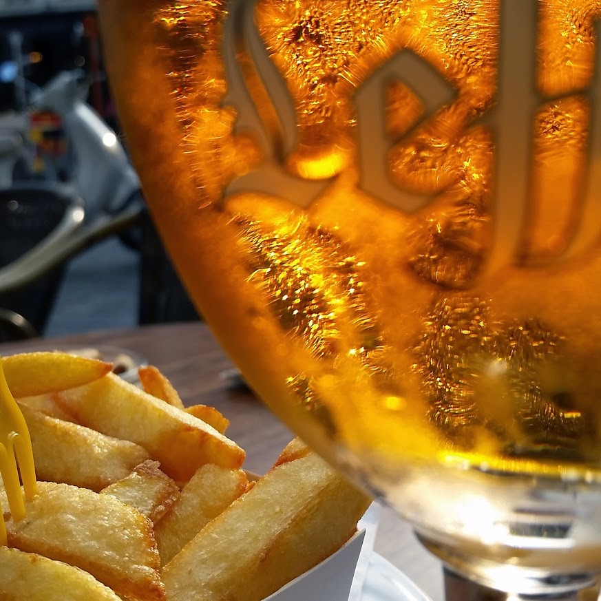 Leffe and Fries - Bruges - Photo by MC Krispy E