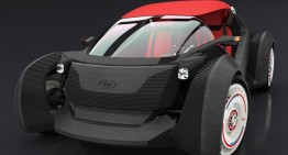 "3D Printed Car 'The Strati"" At 2015 Detroit Auto Show"