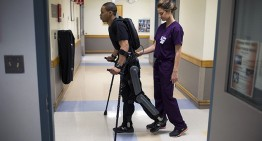 ReWalk Robotic Exoskeleton Helps Paraplegics Walk
