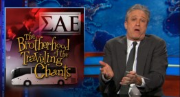 Jon Stewart Talks SAE ,Anti Negro Spirituals and Clueless Media Hosts
