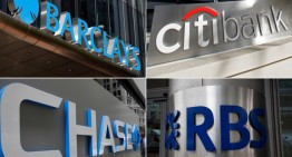 JPMorgan Chase,Citigroup,Barclays,Royal Bank of Scotland Fined More Than $5 Billion