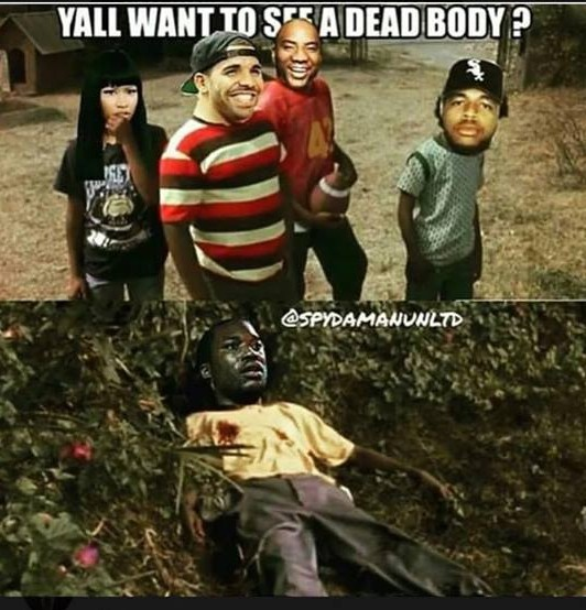Drake bodies Meek