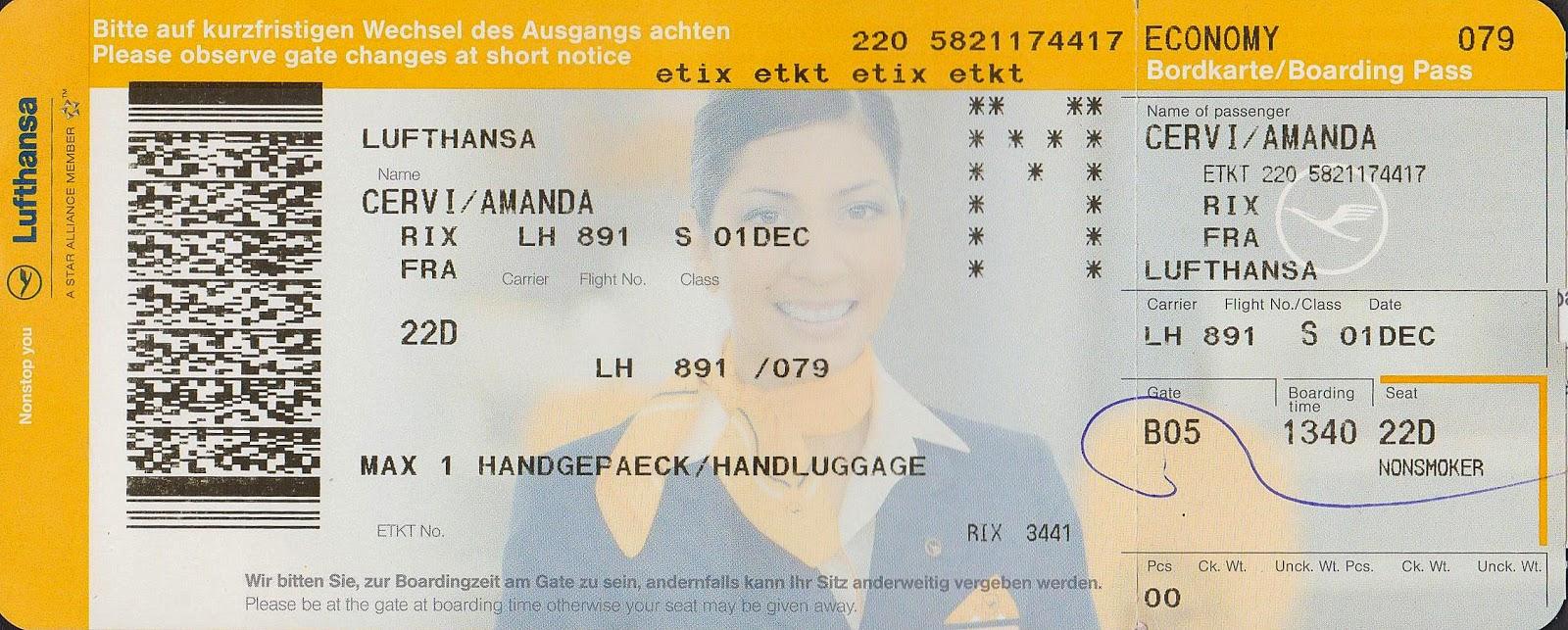 Lufthansa Flugtickets