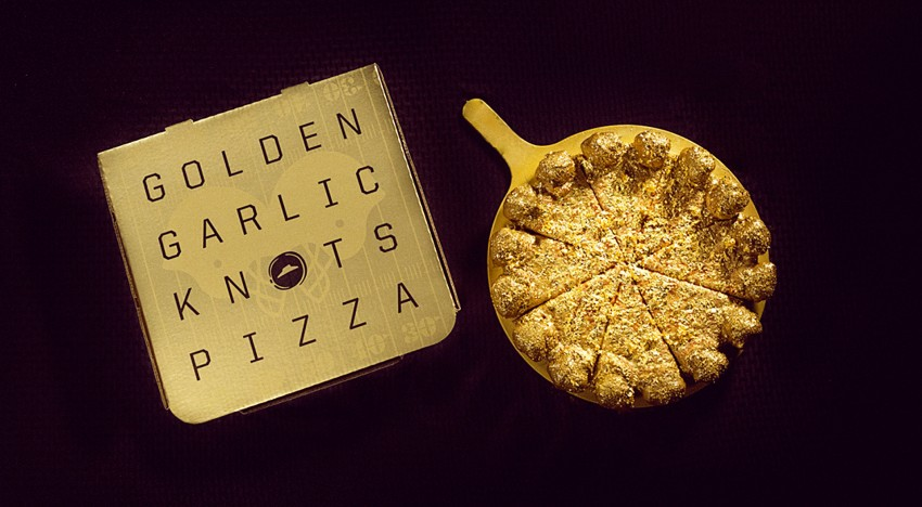 Clean Water? Nah. Gold Pizza?! Hell yeah!!