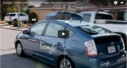 (Video) Google's Self-Driving Car Not Very Good At Umm, Driving.