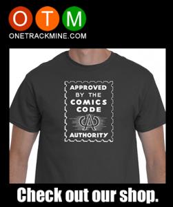 Comics Code Shirt Ad